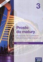 Prosto do matury Matematyka 3 Podręcznik Zakres podstawowy