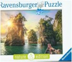 Three rocks in Cheow, Thailand (Puzzle)