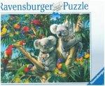 Koalas im Baum (Puzzle)