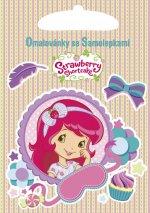 Omalovánky se samolepkami Strawberry Shortcake