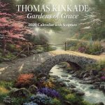 Thomas Kinkade Gardens of Grace 2020 Square Wall Calendar