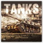 Tanks of the World 2020 Square Wall Calendar