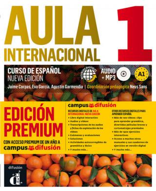 Aula internacional 1 Nueva edición Nivel A1-Libro del alumno + CD Premium 1er TR