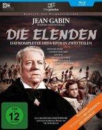 Die Elenden / Die Miserablen - Der legendäre Kino-Zweiteiler, 1 Blu-ray