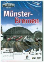 Münster-Bremen, AddOn Trainsimulator 2019, 1 DVD-ROM