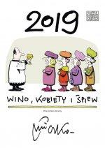 Kalendarz 2019 Andrzej Mleczko Wino kobiety i śpiew