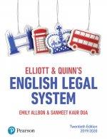 Elliott & Quinn's English Legal System