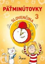 Päťminútovky slovenčina 3.ročník