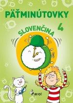 Päťminútovky slovenčina 4.ročník