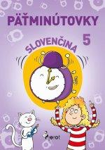 Päťminútovky slovenčina 5.ročník