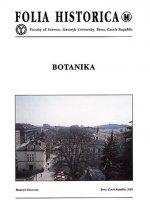 Botanika: Dějiny oboru na Masarykově univerzitě v Brně