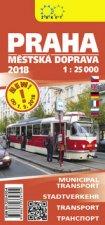 Praha městská doprava 1:25T 2018