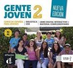 Gente Joven 2 Nueva (A1.2-A2.1) – Biblioteca USB