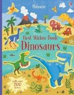 First Sticker Book Dinosaurs