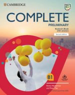 Complete Preliminary Student's Book with Answers with Online Practice