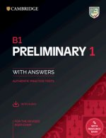 B1 Preliminary 1 for the Revised 2020 Exam Student's Book with Answers with Audio with Resource Bank