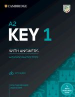 A2 Key 1 for the Revised 2020 Exam Student's Book with Answers with Audio with Resource Bank