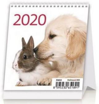 Mini Pets - stolní kalendář 2020