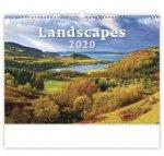 Landscapes - nástěnný kalendář 2020