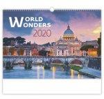 World Wonders - nástěnný kalendář 2020