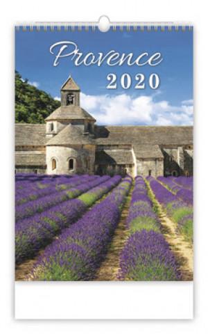 Provence - nástěnný kalendář 2020