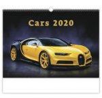 Cars - nástěnný kalendář 2020