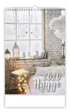Hygge - nástěnný kalendář 2020