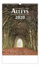 Alleys - nástěnný kalendář 2020
