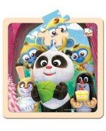 Krtek a Panda: Oslava/puzzle 20 dílků