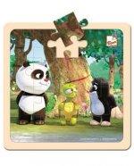 Krtek a Panda: S želvou/puzzle 20 dílků
