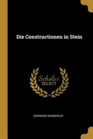 Die Constructionen in Stein