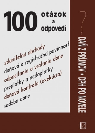 Daň z príjmov, DPH po novele