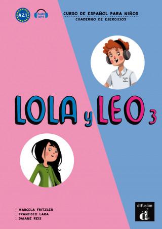 Lola y Leo 3 (A2.1) – Cuaderno de ejercicios + MP3 online