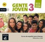 Gente Joven Nueva Ed. 3 (A2+) – Biblioteca USB