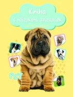 Kniha s nálepkami zvieratiek Psy