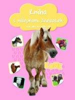 Kniha s nálepkami zvieratiek Kone