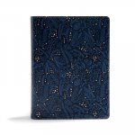 CSB Study Bible, Navy Leathertouch: Red Letter, Study Notes and Commentary, Illustrations, Ribbon Marker, Sewn Binding, Easy-To-Read Bible Serif Type