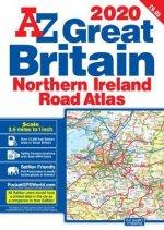 Great Britain Road Atlas 2020 (A3 Paperback)