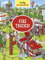 My Big Wimmelbook: Fire Trucks!
