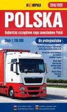 Mapa samochodowa Polski dla profesjonalistów 1:700 000