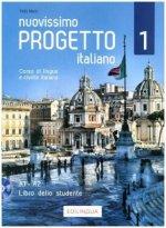 Nuovissimo Progetto Italiano 1. Lehrbuch mit DVD-Video