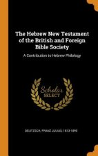 Hebrew New Testament of the British and Foreign Bible Society