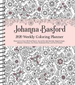 Johanna Basford 2020 Weekly Colouring Planner Activity Diary