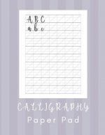 Calligraphy Paper Pad: Calligraphy Workbook Practice - 160 Sheet Pad
