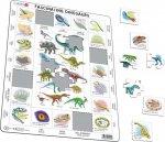 Puzzle MAXI - Fascinující svět dinosaurů/35 dílků