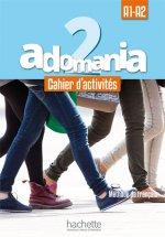 Adomania 2 A1-A2 Cahier d'activités + CD