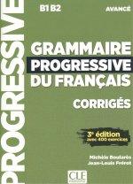 GRAMMAIRE PROGRESSIVE DU FRANÇAIS CORRIGÈS