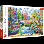 Puzzle Kanał Amsterdamski 1500
