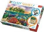 Crazy Shapes puzzle Tropický ostrov 600 dílků