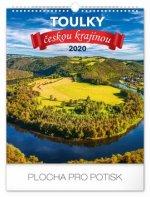 Nástěnný kalendář Toulky českou krajinou 2020
